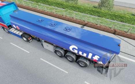 Die Auflieger-tank Mammut für Euro Truck Simulator 2