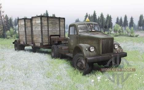 GAZ 63П 1958 pour Spin Tires