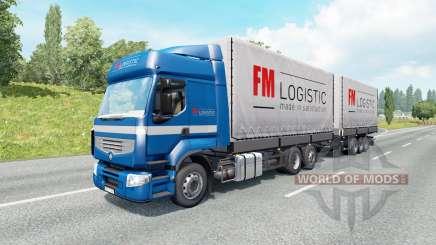 Großraum-LKW für den Verkehr für Euro Truck Simulator 2