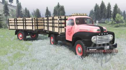 Ford F-3 1953 pour Spin Tires