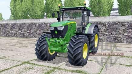 John Deere 6155R front loader pour Farming Simulator 2017