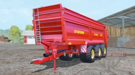 Strautmann PS 3401 vivid red für Farming Simulator 2015