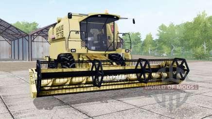 New Holland TF78 soft yellow pour Farming Simulator 2017