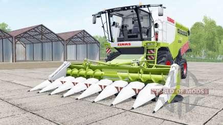 Claas Lexion 740 green and white pour Farming Simulator 2017