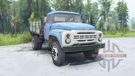 ZIL 130 soft-Farbe blau für MudRunner