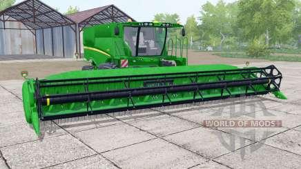 John Deere S670 header trailer pour Farming Simulator 2017