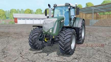 Fendt 933 Vario dark lime green pour Farming Simulator 2015