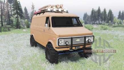 Chevrolet G10 1975 v2.0 pour Spin Tires