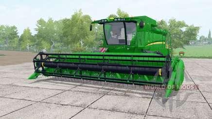 John Deere S650 dual front wheels pour Farming Simulator 2017