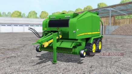John Deere 678 wrapper pour Farming Simulator 2015