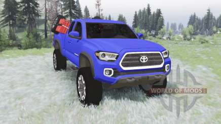 Toyota Tacoma TRD Off-Road Access Cab 2016 v1.2 pour Spin Tires