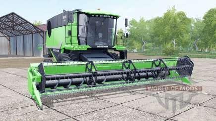 Deutz-Fahr 6095 HTS header trailer pour Farming Simulator 2017
