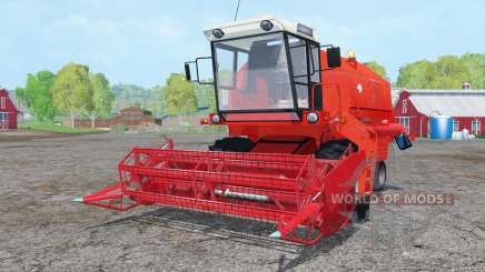 Bizon Z058 vivid red pour Farming Simulator 2015