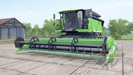 Deutz-Fahr 6095 HTS lime green pour Farming Simulator 2017